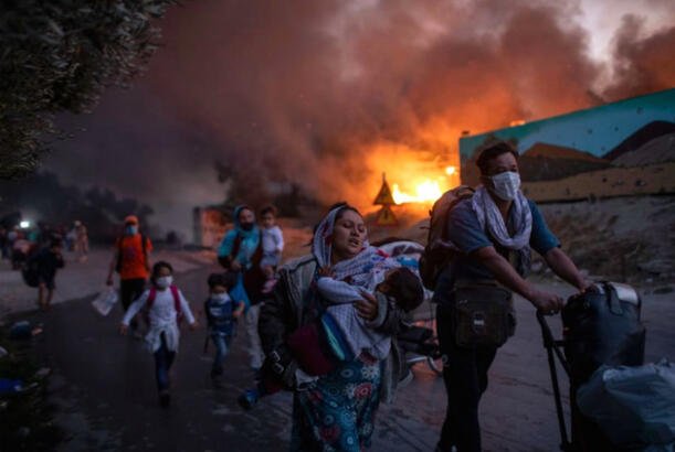 Week in PHOTOS : Fire in California and Beirut, protests in Portland