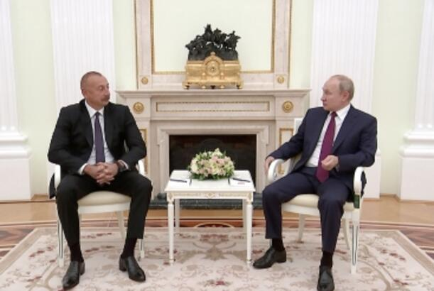 President Ilham Aliyev: About 20 percent more cargo was transported on North-South transport corridor than last year